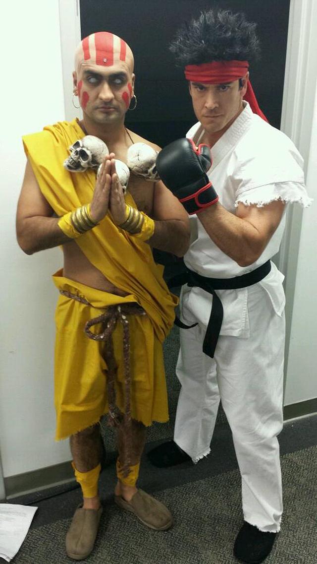 Dhalsim and Ryu