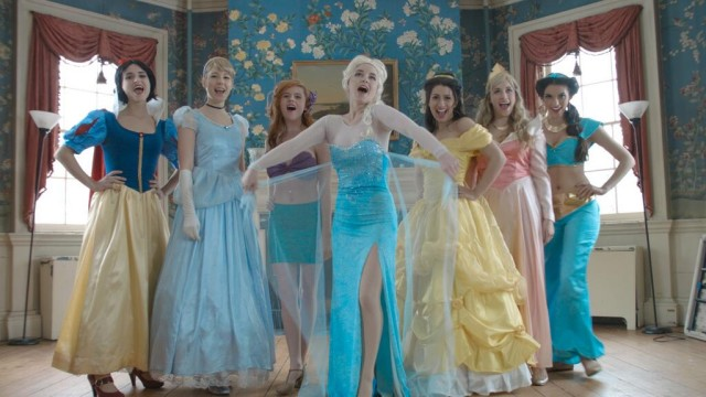 A Live-Action Musical Tribute to the Disney Film 'Frozen', Where Elsa Helps Liberate Other Disney Princesses