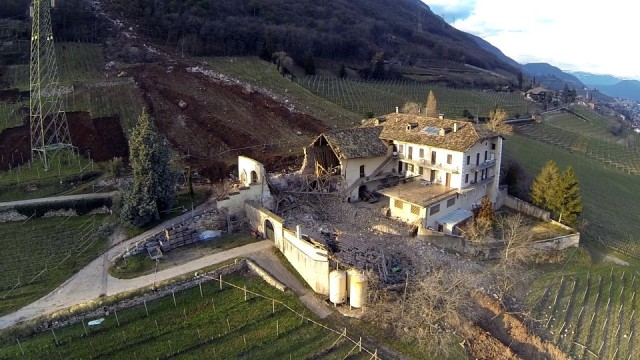 Boulder Destroys Family Farm