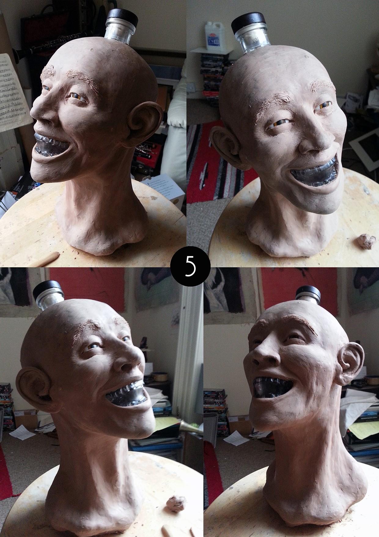 Crystal Head Vodka Facial Reconstruction
