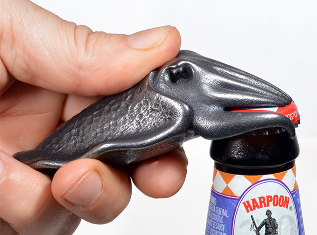 Cuttlefish Bottle Opening