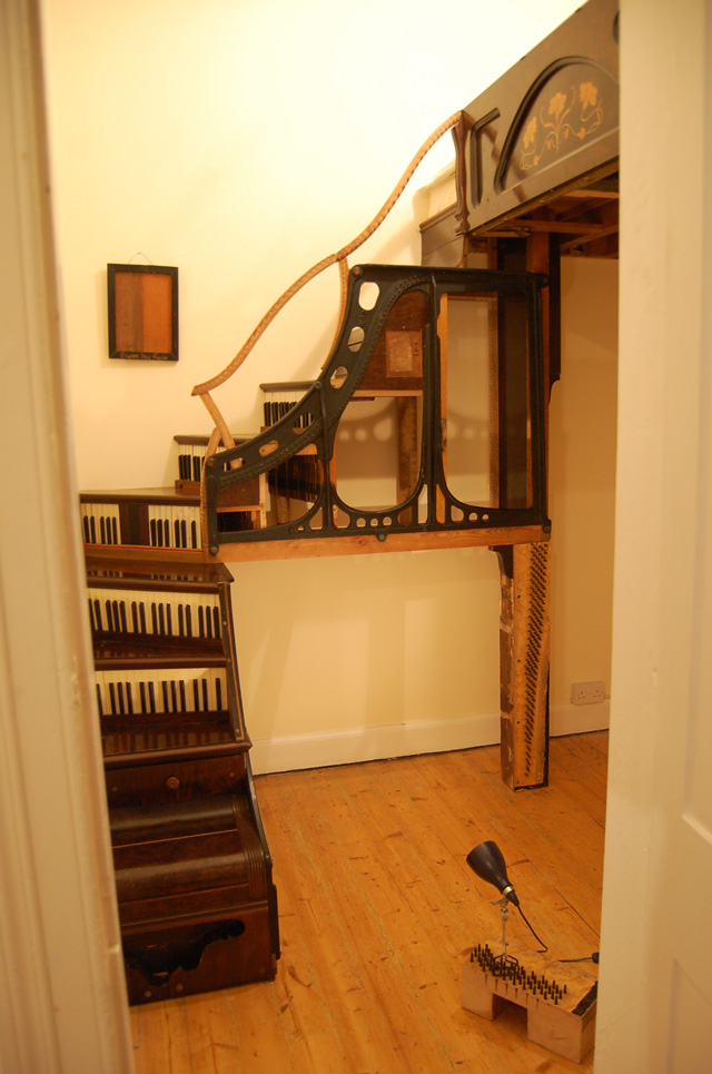 Piano Staircase by Tim Vincent-Smith