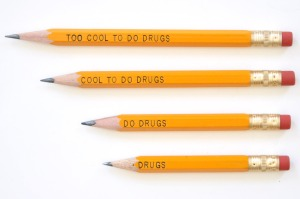 Cool To Do Drugs Pencil