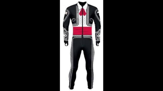 Hubertus von Hohenlohe Mariachi Ski Suit