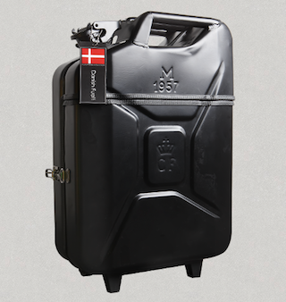 Jerry Can Suitcase Closed