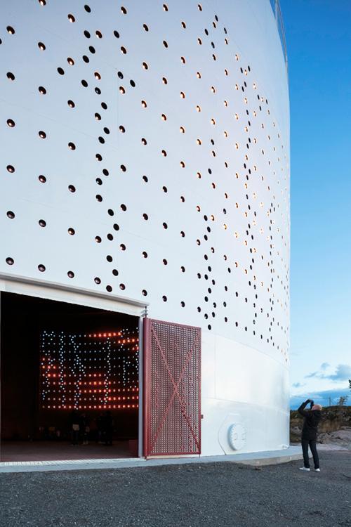 Silo 468 Light Installation