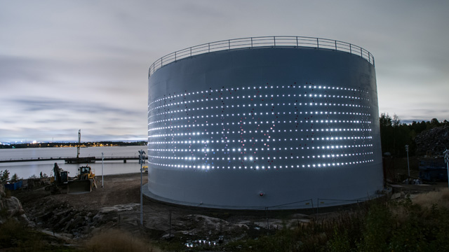 Silo 468 Light Installation