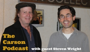 Mark Malkoff and Steven Wright