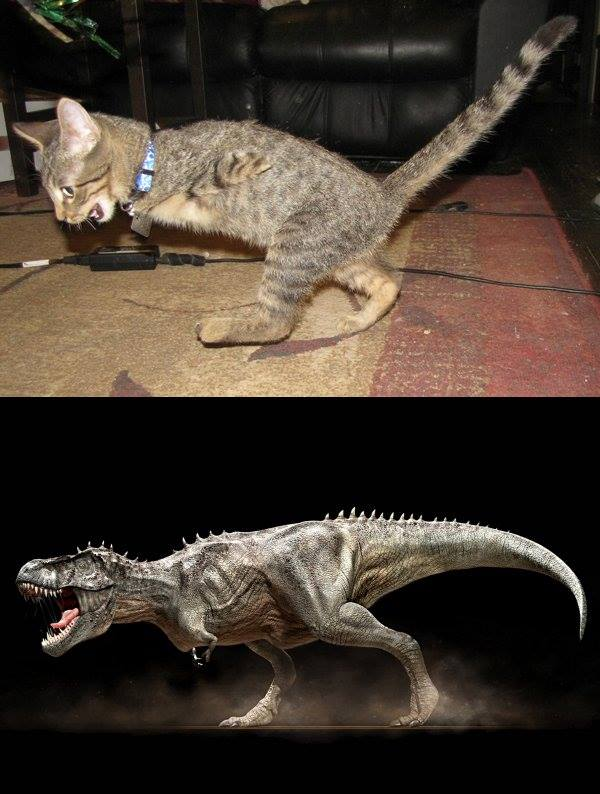 Mercury as T-Rex