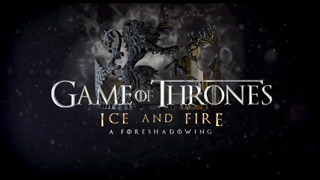 Game of Thrones: Ice and Fire Foreshadowing