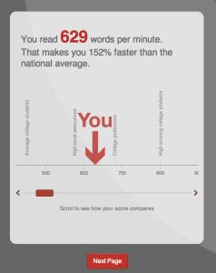 Speed Reading - Comparison