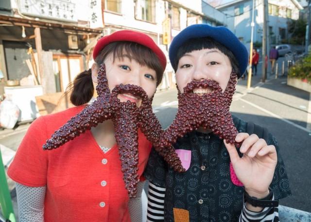 Azuki Bean Beards by Takao Sakai