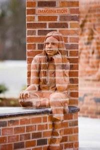 Brick Sculptures by Brad Spencer