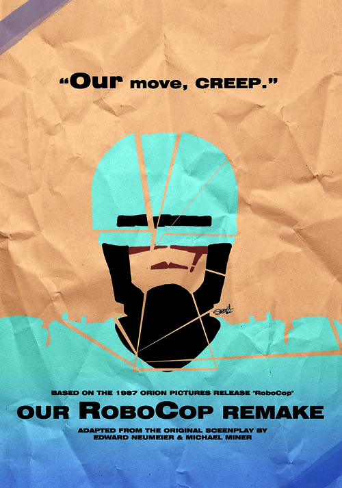 Our RoboCop Remake Poster