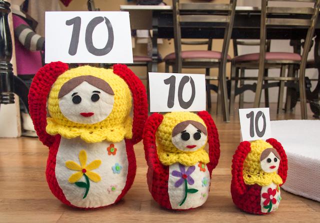 Crocheted Nesting Doll
