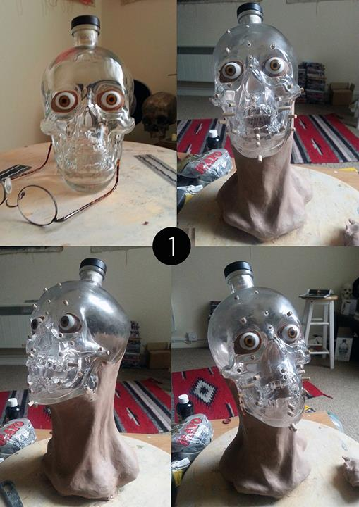 Crystal Skull Vodka Facial Reconstruction