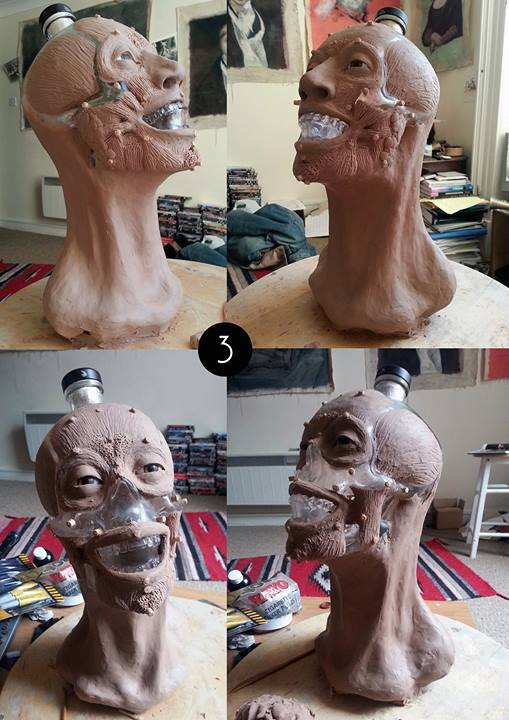 Crystal Head Vodka Facial Reconstruction 3