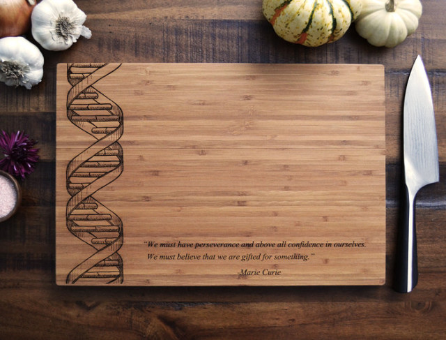 Custom Cutting Board DNA