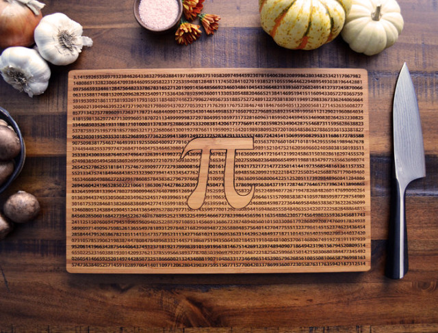 Custom Cutting Board Pi