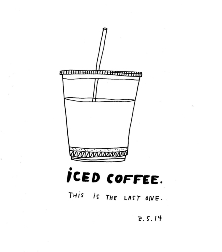 Daily Purchase Drawings Iced Coffee