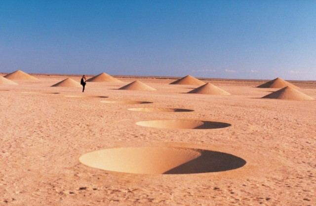 Desert Breath Land Art Installation in Egypt