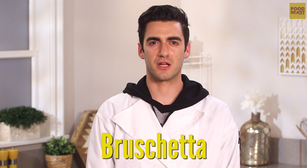 Correctly Pronouncing Bruschetta