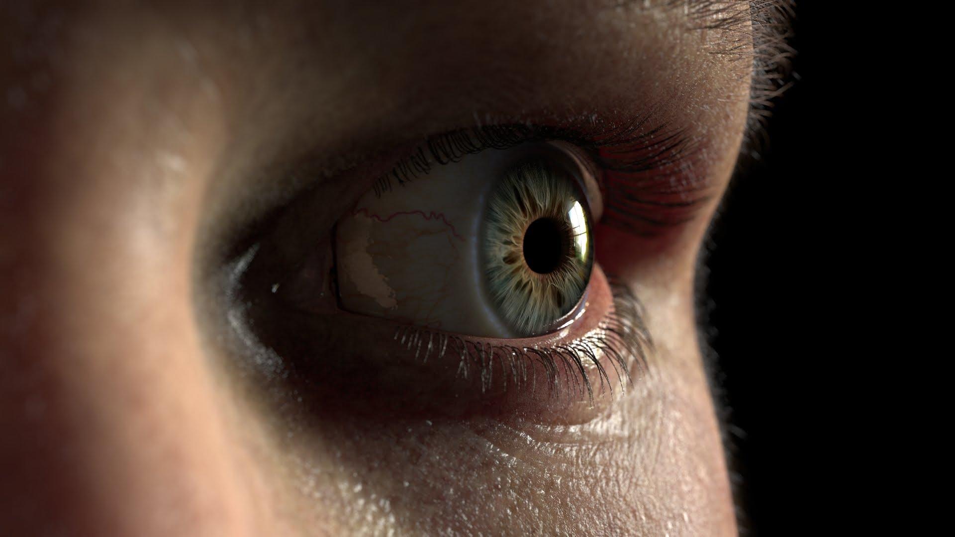 Eye Piece, A Short Video Featuring a Disturbingly Realistic Eyeball Made Using Computer Graphics