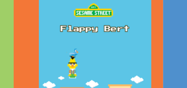 Flappy Bert Video Game