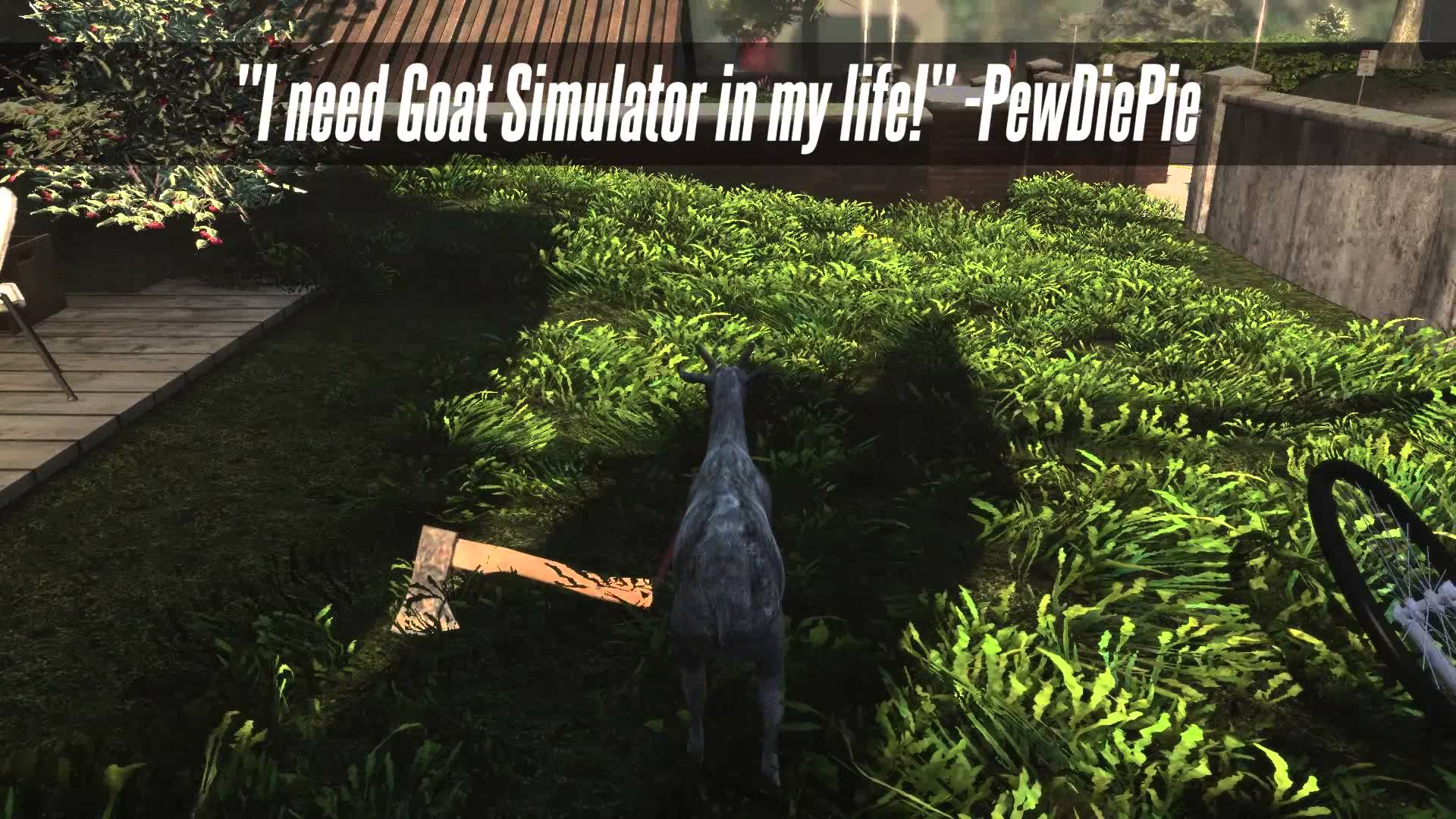 Goat Simulator', A Video Game That Simulates the Life of a Goat, Now