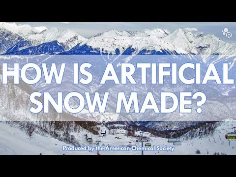 How Artificial Snow Is Made
