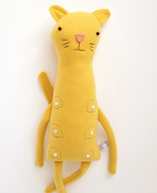 Plush Nipple Kitty Friend