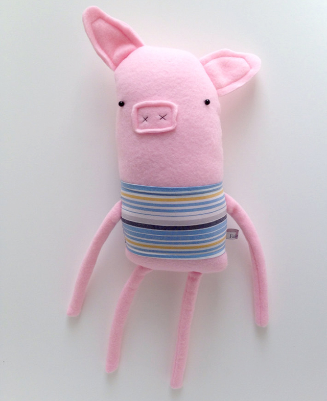 Plush Pig Friend