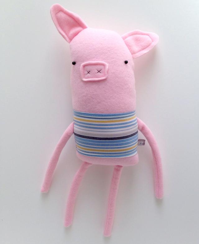 Plush Pig Friend