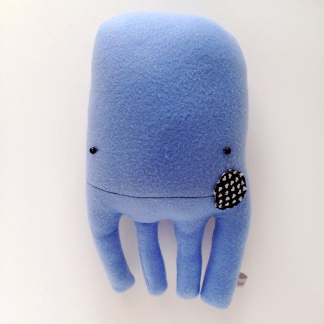 Plush Octopus Friend
