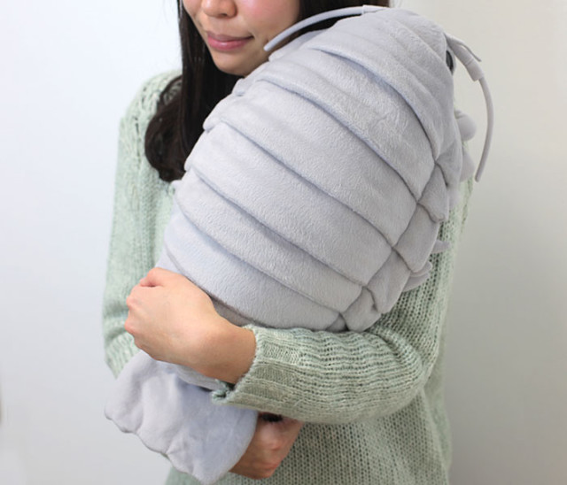 Giant Isopod Plush Doll Hold