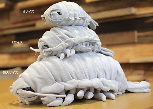 Plush Isopod Doll Sizes