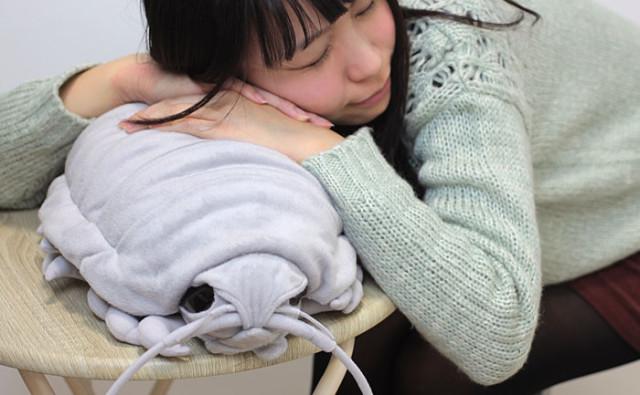 An Adorably Creepy Giant Isopod Plush Doll