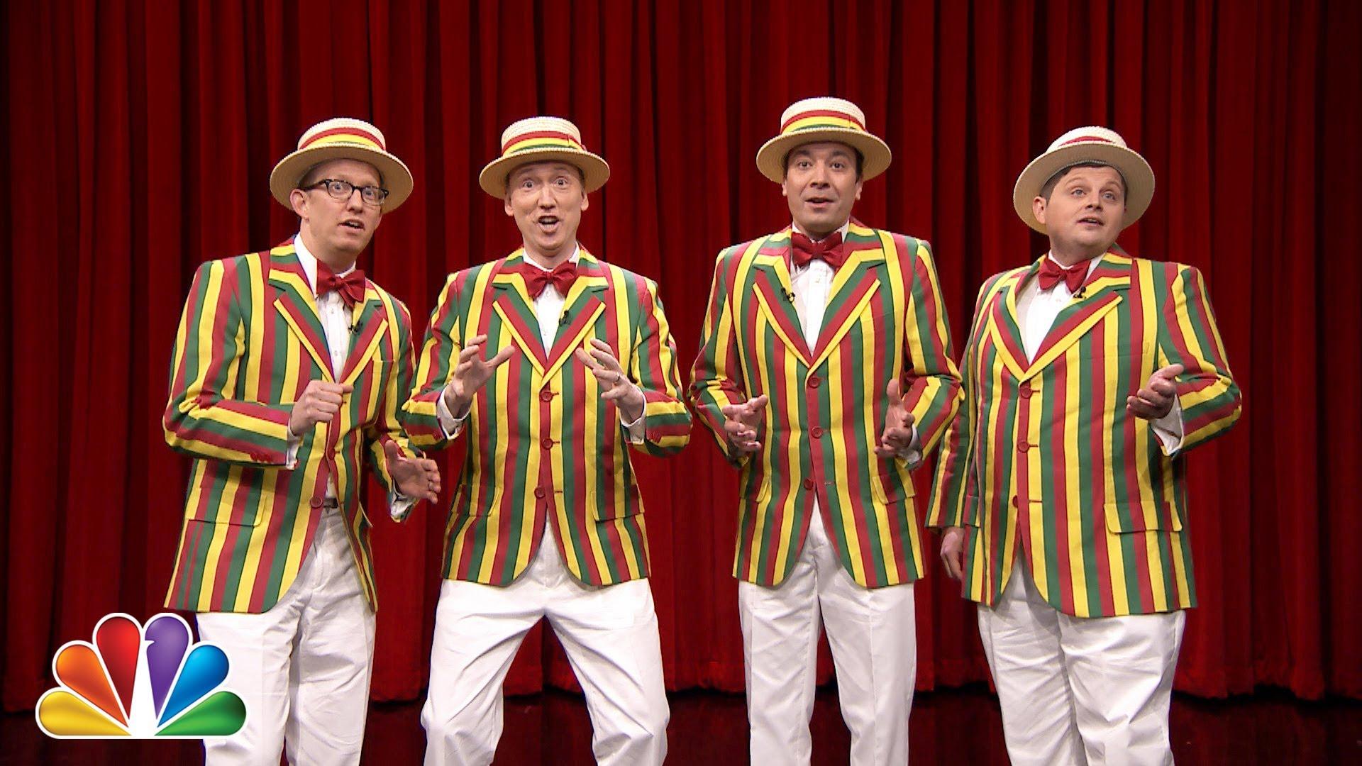 Barbershop Quartet : Jimmy Fallon?s Barbershop Quartet Covers R. Kelly?s ?Ignition ...