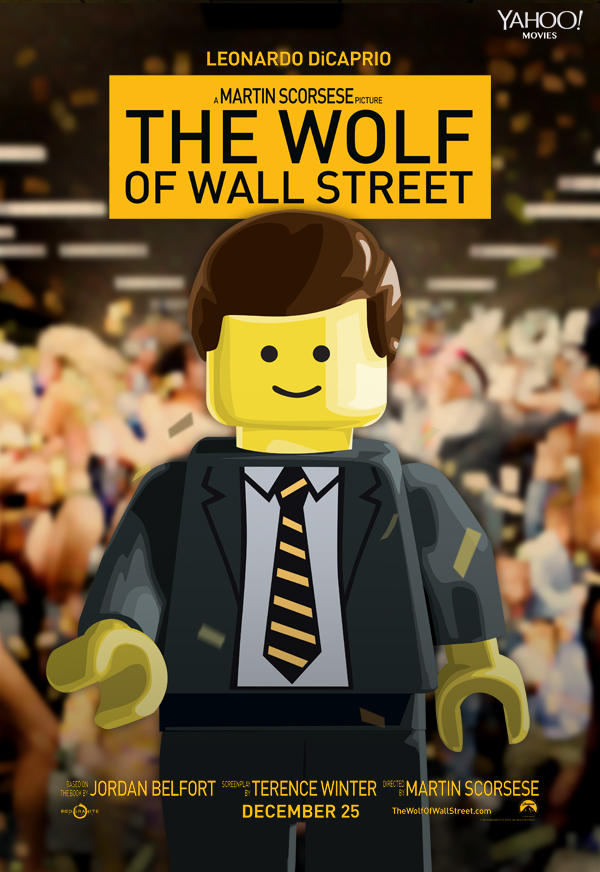 LEGO Movie The Wolf of Wall Street