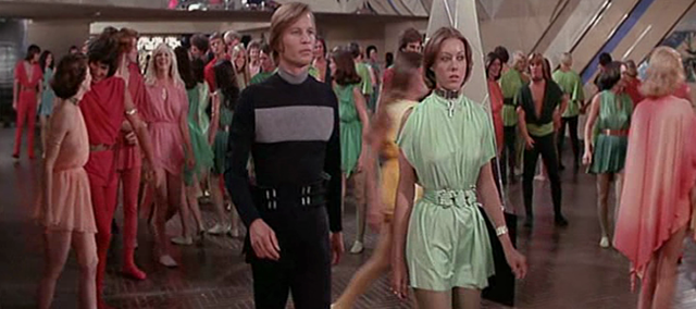 Logan's Run Street Game in San Francisco