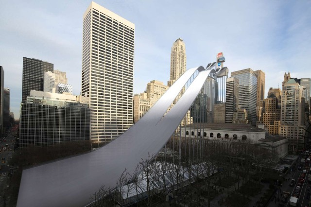 NYC Winter Olympics Ski Jump