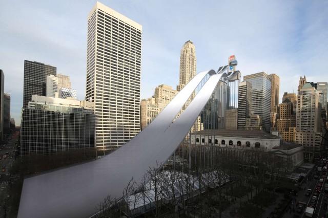 NYC Winter Olympics Ski Jump