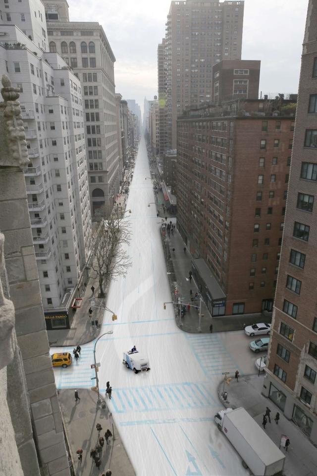 NYC Winter Olympics Speedskating