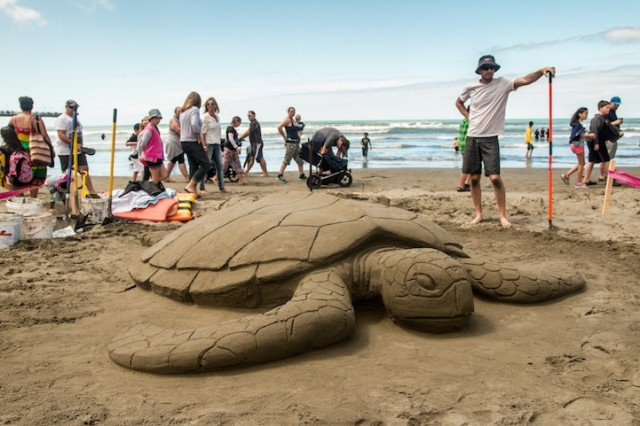 Sand Sculptures from the New Zealand Sand Castle Competition