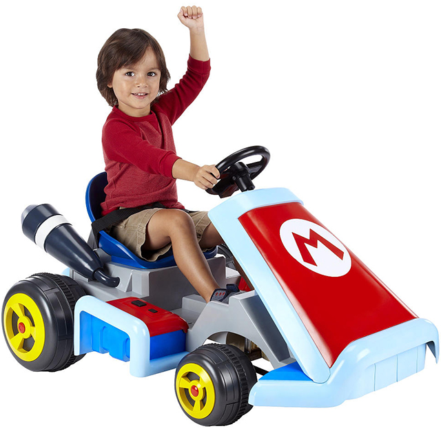 Super Mario Kart Ride-On Vehicle