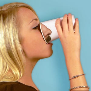 Pick Your Nose Paper Cups