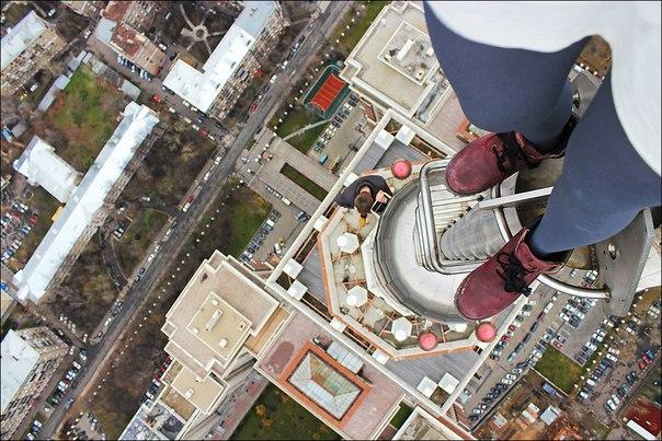 Kirill Oreshkin Climbing Tower