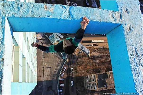 Kirill Oreshkin Climbing