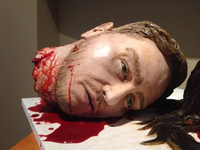 Severed Heads Cake Husband