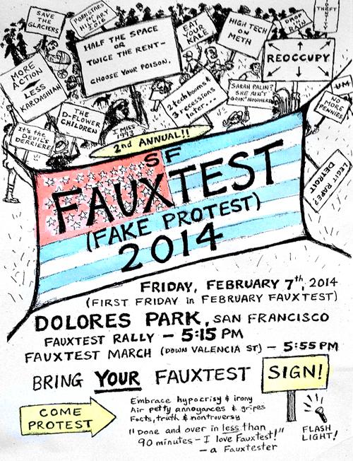 SF Fauxtest 2014